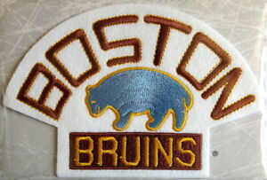 1929 BOSTON BRUINS Willabee & Ward NHL THROWBACK HOCKEY TEAM PATCH ~ Patch Only