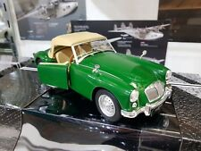 Triple 9 Collection 1.18 Diecast MGA MKI Twin Cam 1959 Green Closed Roof