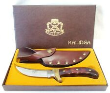 401 Kalinga Skinner Buck Knife & Sheath MIB Sinclair Oil Service Award Unused