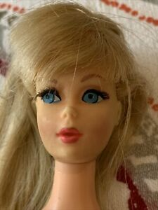 Vintage 1966 Mattel Mod Barbie Doll Blonde Twist 'N Turn Japan