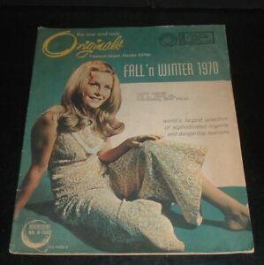 LQQK vintage 1970 ORIGINALS CATALOG ladies lingerie  #2
