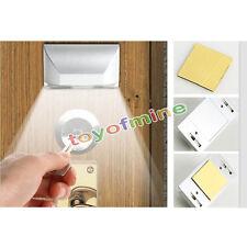 Wireless 4 LED PIR Auto Motion Sensor Detector Door Keyhole Key Light Lamp