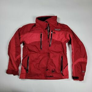 Womens Spyder Axys Snow Ski Jackets Red Sz 4 Entrant Fabric