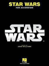 Star Wars para acordeón por Hal Leonard Publishing Corporation (de Bolsillo/...