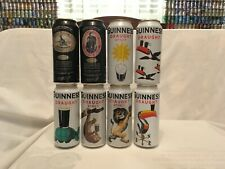 """Guinness Draught Special Edition Cans (6) & Guinness Stout """"old label"""" Cans (2)"""