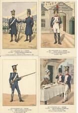 Cdt BUCQUOY - UNIFORMES 1er EMPIRE - Série 103 - l'école militaire de Saint-Cyr