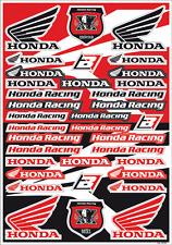 Blackbird Honda Logo Sticker Graphic Decal Sheet