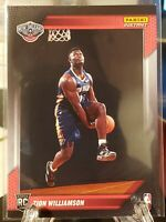 ZION WILLIAMSON 🔥2019-20 NBA INSTANT RPS FIRST LOOK PELICANS JERSEY ROOKIE RC