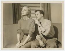 JACK LEMMON, CYNTHIA STONE rare original TV photo 1949 THAT WONDERFUL GUY