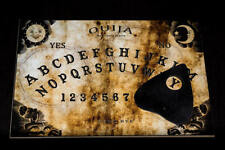 Wooden Ouija Board game & Planchette with detailed Instruction