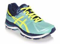 NIB Women's Asics Gel Cumulus 1 Running Shoes Medium Choose Size Mint/Yel/Navy