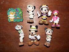Disney Mickey Mouse figure toy playset Safari Animal World Kingdom bundle joblot