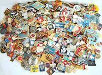 10 pcs USSR SOVIET ERA ENAMEL PINS, BADGES COLD WAR COMMUNISM CCCP #А016