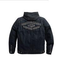 "Harley-Davidson Canvasjacke/Hoodie ""WESTMONT"" 3in1  *97595-17VM/002L* Gr. XL"
