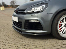 VW Golf 6 R Front Bumper Lower Lip spoiler Cup Chin Valance Splitter MK6 MK R VI