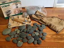 NEW CONAIR HR10 Heated Hot Stone Spa Therapy System Hot Rocks Massage