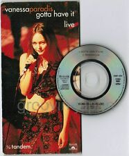 "VANESSA PARADIS Gotta Have It(Live) LENNY KRAVITZ JAPAN 3"" CD PODP-1094 Free S&H"