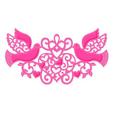New Sweet Dixie Metal Cutting Dies Wedding Doves and Hearts