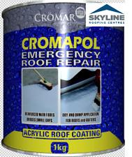 Cromapol Grey 1kg Handy Size | Waterproofing | Acrylic Roof Coat | Sealant