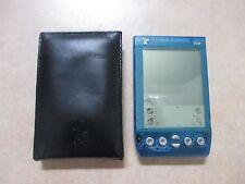 Handspring Visor Transparent Blue PDA with case - FREE SHIPPING