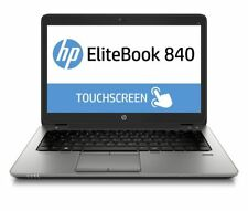 Touchscreen 5th Gen Core i5 HP EliteBook 840 G2 Laptop. 2.2GHZ, 8GB, 256GB SSD.