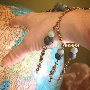 Oil Diffuser Bracelet Lava Stone Jewelry Essential Oil Gifts Oily Mama