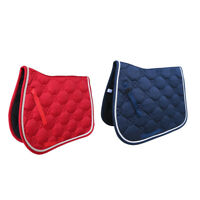 Pony Horse Saddle Pad Riding Show Jumping Dressage Competition Saddlecloth