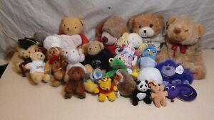 Job Lot Bundle 23 X  Soft Toys Plush Animals Teddy's