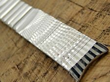 Vintage NOS Unused Kreisler Stainless Watch Band Center Expansion 19mm Curved