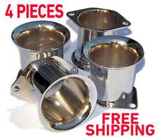 4x Velocity Stacks air horn pipe trumpet WEBER 40/44/48IDF 40DCOE DELLORTO SOLEX