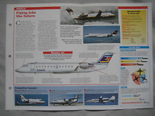 Aircraft of the World Card 81 , Group 2 - Canadair Regional Jet