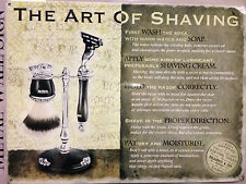 The Art of Shaving Original Metal Tin Sign