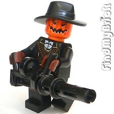 M156H29ALG Lego Jack O' Lantern Evil Pumpkin & Large Automatic Magazine Gun NEW