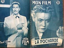 "MON FILM 1953 N 367 "" LA POCHARDE "" MONIQUE  MELINAND-ERROL FLYNN"