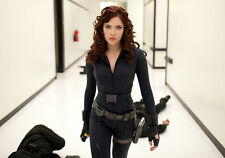 Sexy PHOTO 8.25x11.75 Scarlett Johansson promo shot in Iron Man 2 #11