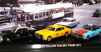 1:64 FALCON XY TRIPLE TAXI SET - NEW!