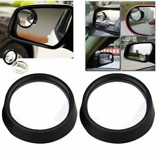 2 Car Rearview Blind Spot Side Rear View Mirror Convex Wide Angle Adjustable