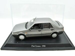 Fiat Scale 1/43 Croma Car Models diecast modellcar Static NOREV Grey
