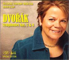 Marin Alsop: Dvorak sinfonie No. 7 8 Baltimore Symphony Orchestra BSO EDITION CD
