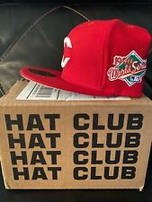 CINCINNATI Reds New Era 59Fifty 1990 World Series side patch Hatclub exclusive s