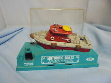 1967 Ideal Motorific Boat Battery Operated  Collectible Vintage Mighty Blaze