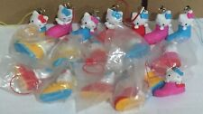 hello kitty charms tomy gacha usa mix lot of (24) pcs randow