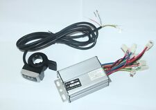 48V 1000W E-Bike Scooter Speed Control Motor Brushed Controller &Thumb Throttle