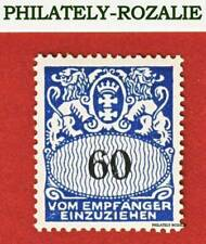 GERMANY - DANZIG STAMPS MH 1939 Mi P46 COAT of ARMS