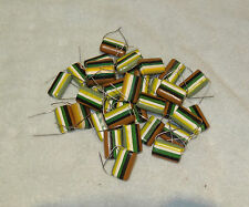 12 Tropical Fish 1uF 400V capacitors for Rogers LS 3/5A speakers NEW
