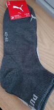 Puma Quarter Socks 3 Pack- Size 9-11