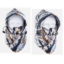 Camo Winter Warm Fleece Neck Face Mask Ski Hunting Windproof Balaclava Cover Us