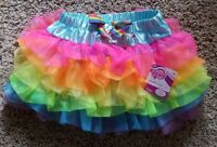 My Little Pony Rainbow Dash Girls NEW with Tags Sparkly Tutu Skirt Size M 8-10