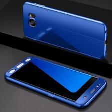 Coque Intégrale pour Samsung Galaxy S9 Plus Miroir Bleu + Film de Protection An