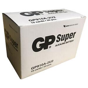 GP N Size Alkaline Battery Box of 20 Batteries 10 packs of 2 on card GP910A-2U2